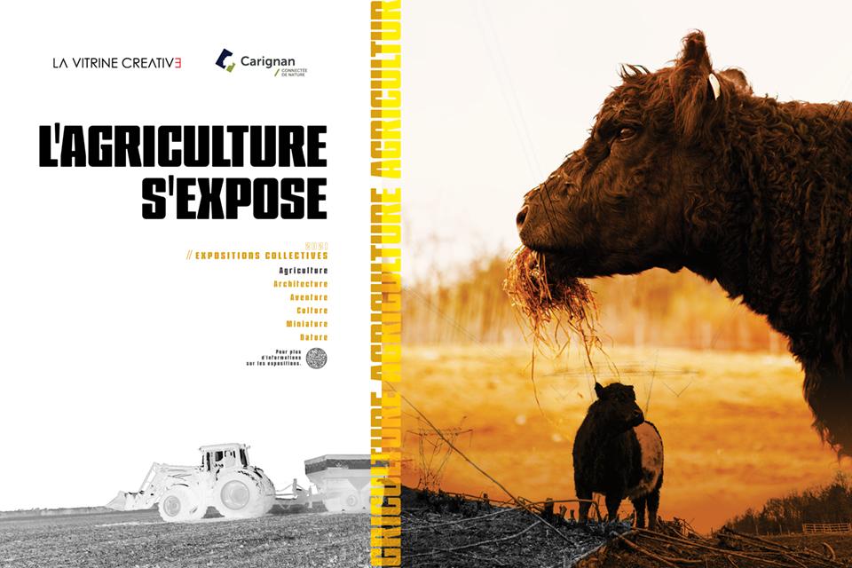 Affiche exposition Agricole